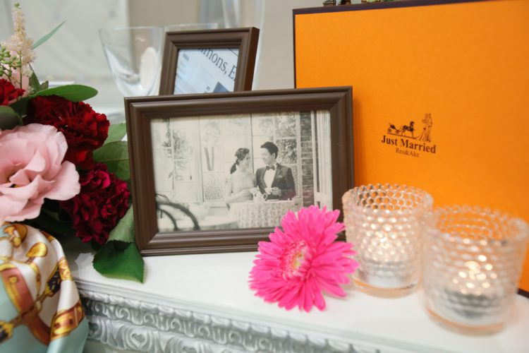 orange box wedding