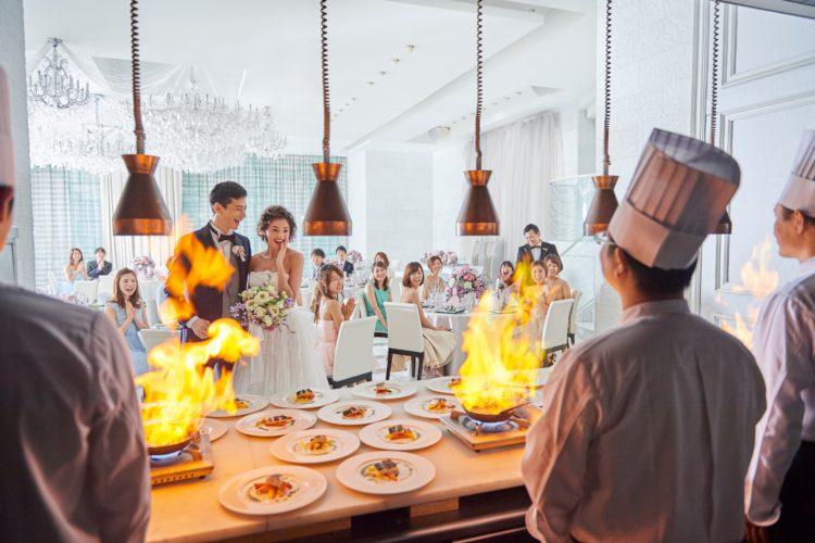 残席1組【銀座*上質おもてなしフェア】ライブキッチン体験で美食を堪能