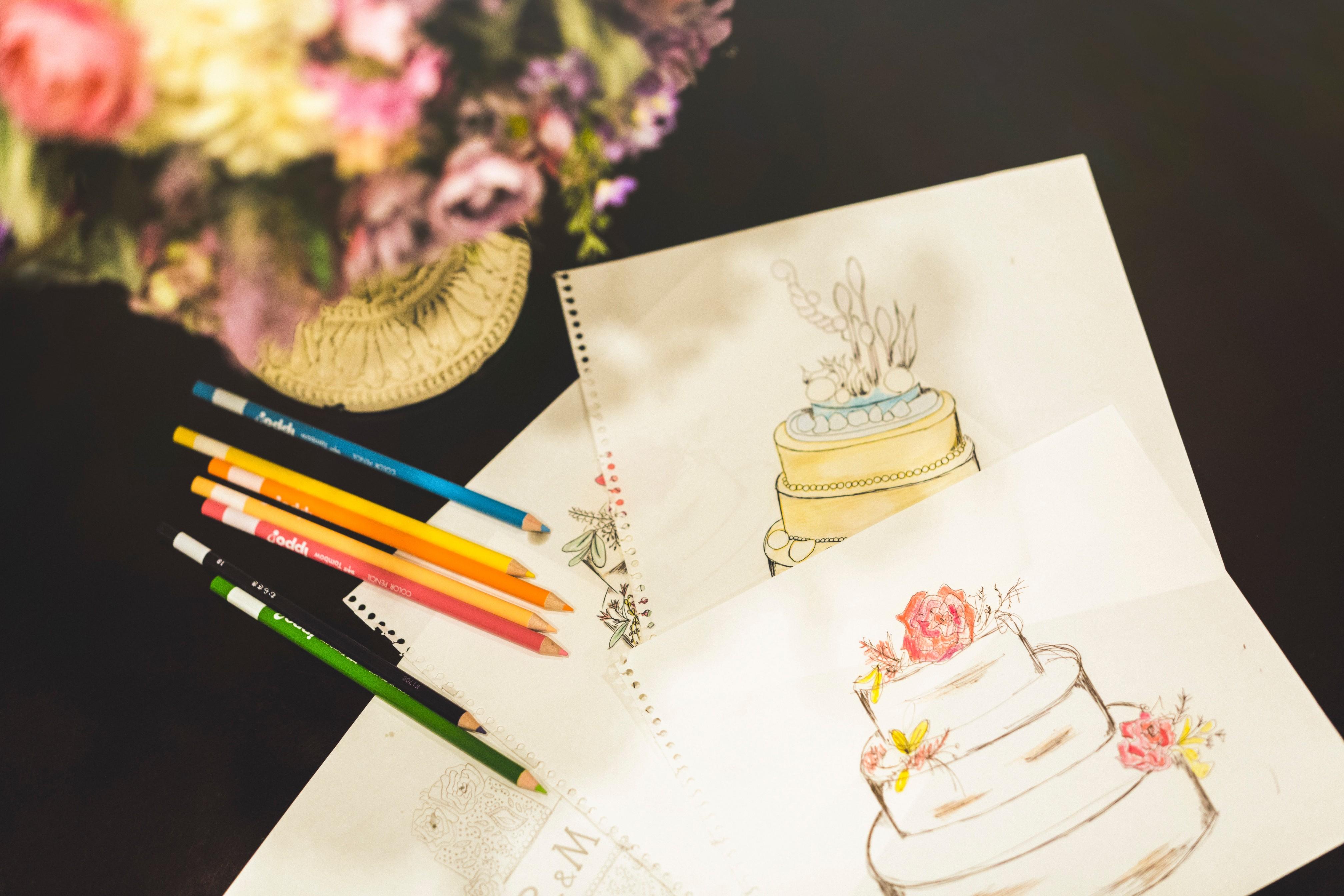 オリジナルデザイン可能なウェディングケーキプレゼント♪<br> 人気シーズンご希望の方へ向けたお得なプランが登場です!