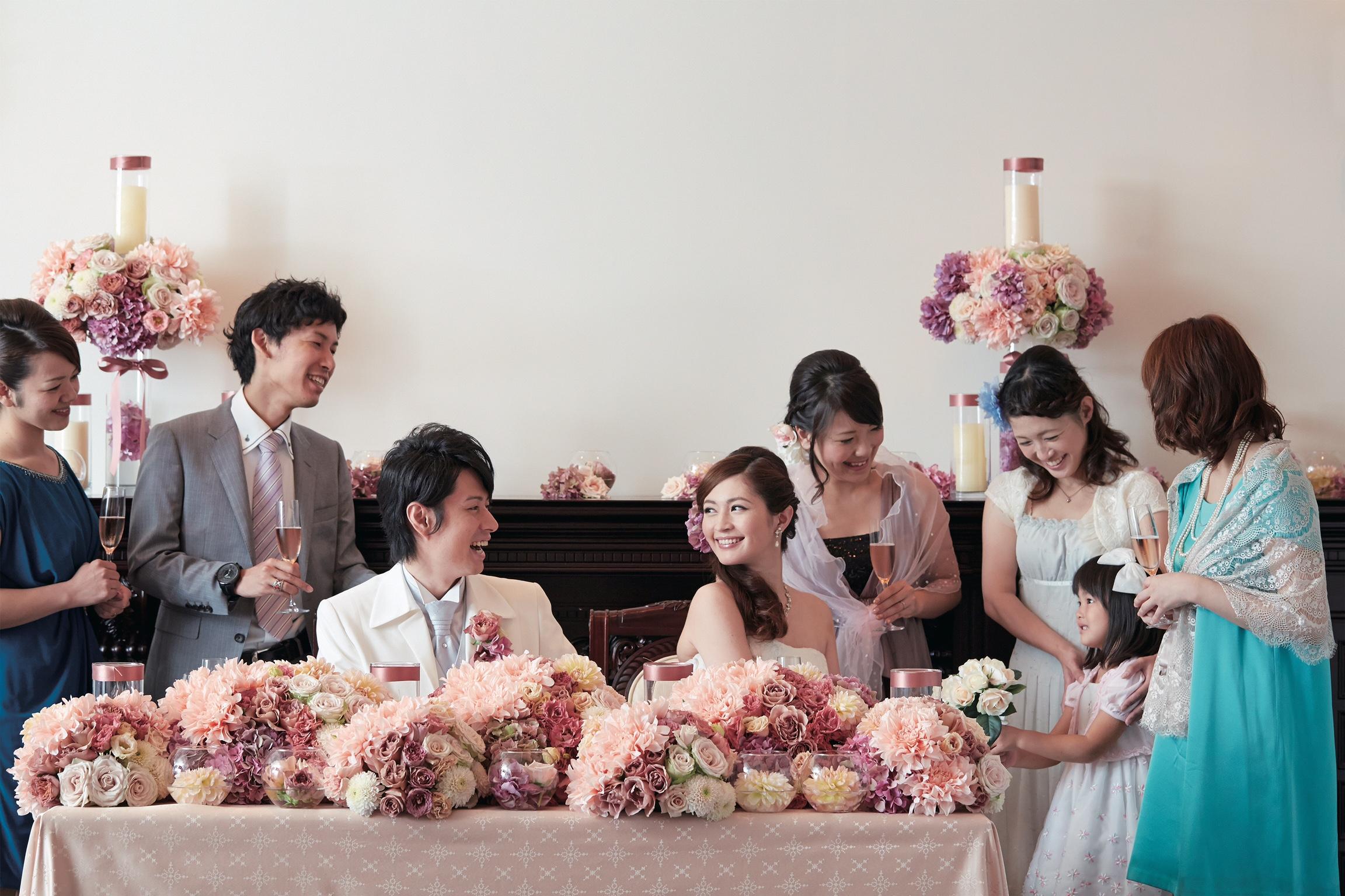 お申し込み日より半年をきったお二人へ♪<br> 結婚式準備は日程さえ空いていれば全く問題ございません!