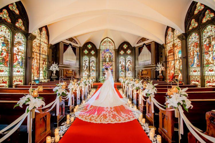 結婚式で一番大切な場所・・って?